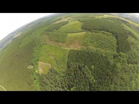 Vol sur le site parapente Coo (Belgique)