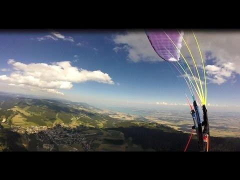 Vol sur le site parapente Suchet (Suisse)