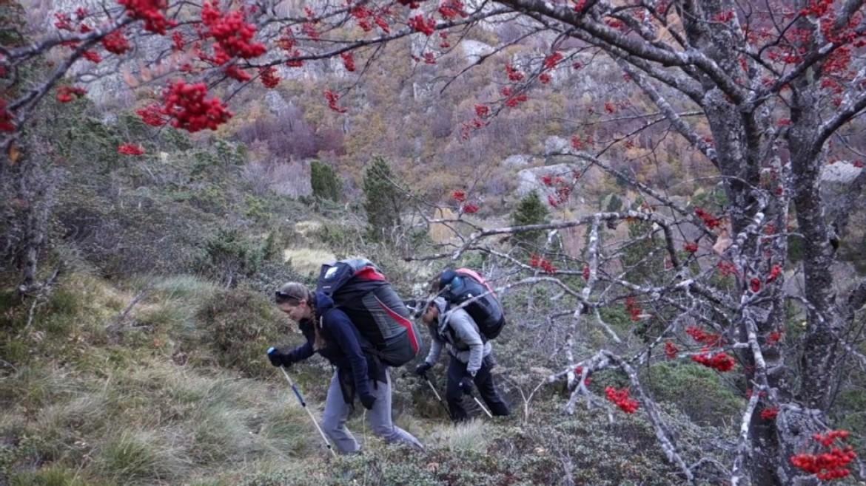 Vols bivouac dans la vallée d'Aston (Pyrénées Ariégoises)