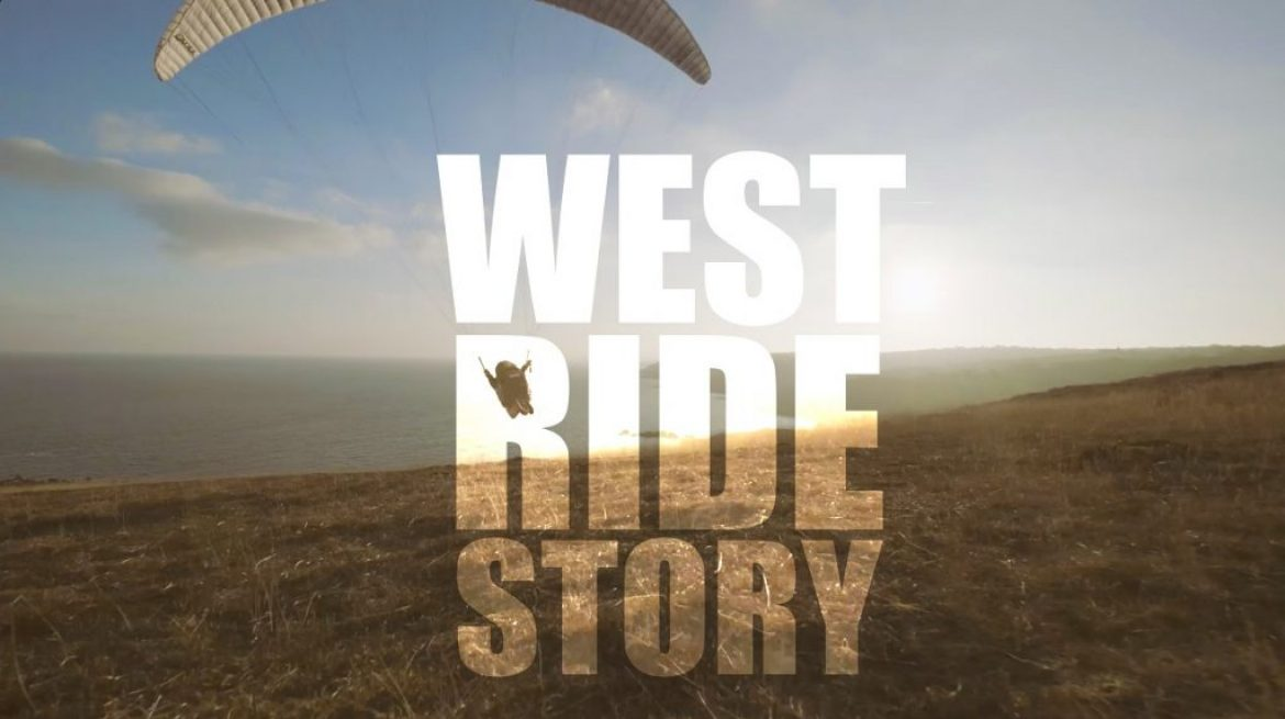 """West Ride Story"", long vol freestyle de Laurent Roudneff sur côtes Ouest"