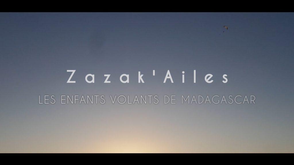 « Zazak'Ailes », des malgaches découvrent le parapente (2è prix aux Icares)
