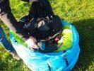 sac parapente Fast Pack pour loger aile et sellette